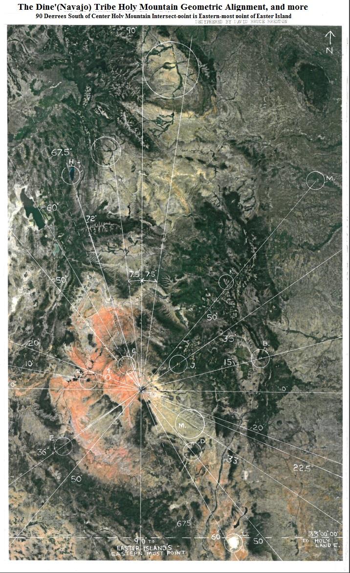 Dine' (Navajo) Holy Mountain Geometric Align 1