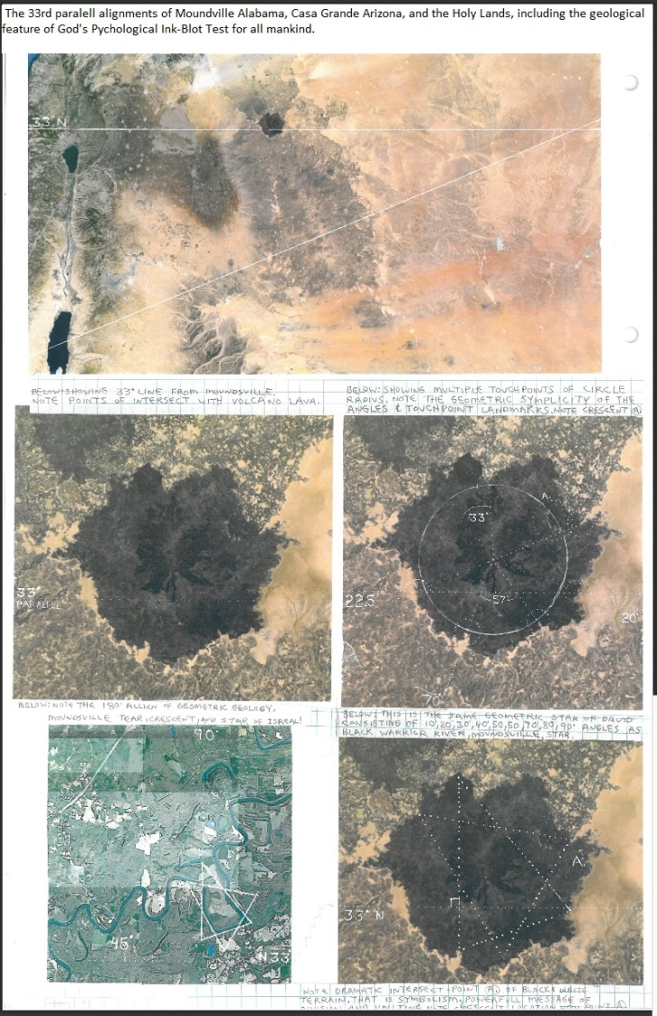 The 33rd Paralell and God's Pychological Ink-Blot Test for Mankind 1