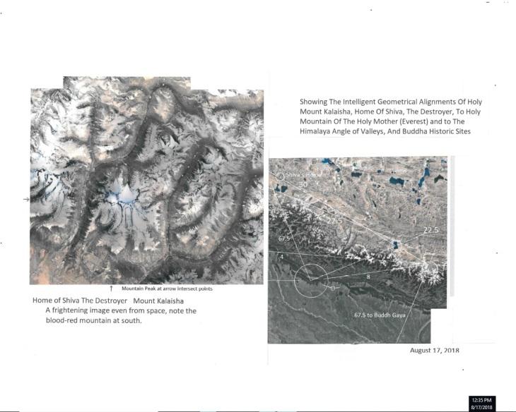 Mount Kalaisha, Home of Shiva The Destroyer