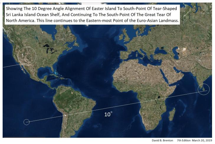 Sri Lanka to Easter Island 10 Degree Line png New
