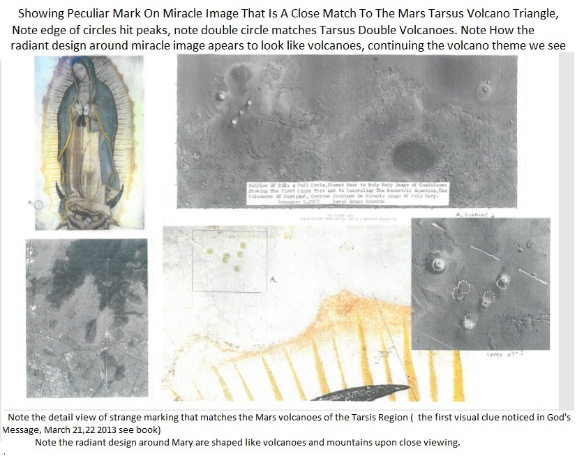 Holy Mary Image Mars Volcano png