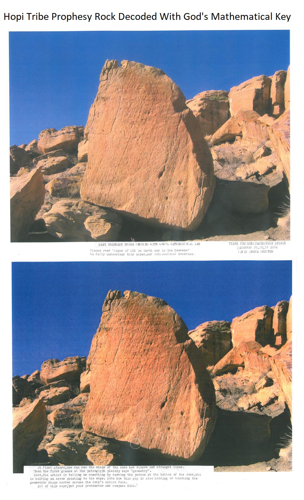 Hopi Prophesy Rock page1