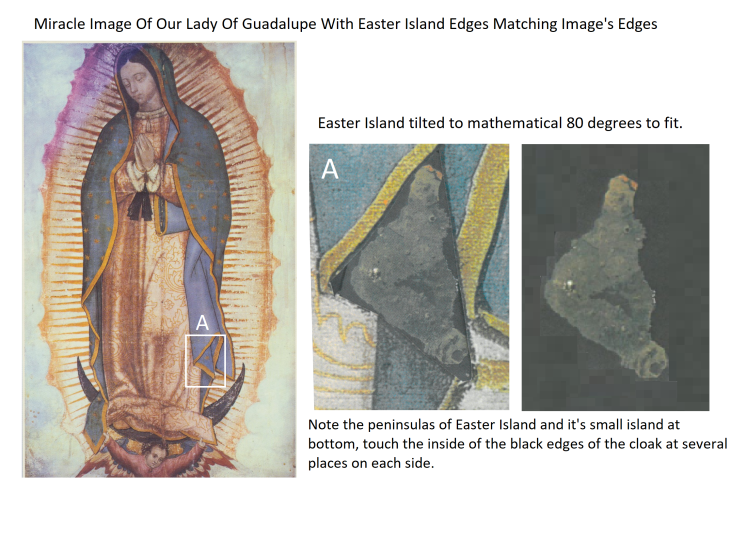 Holy Mary Image and Easter Island 3